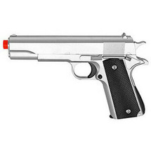 Galaxy G13 Full Metal Spring BB Gun in Silver