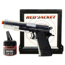 Red Jacket 1911 Pistol kit with Target and 400 bb pellets