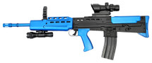 new style L85A1 SA80 type bb gun in blue