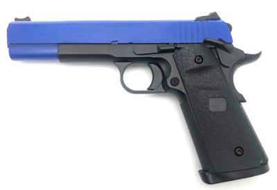 Army Armament R26 M1911 Replica GBB Full Metal in Blue