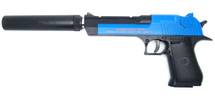 CYMA C20+  Desert Eagle Full Metal BB Gun in Blue