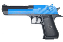 CYMA C20A - Full Metal Desert Eagle BB Gun in Blue