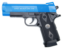CYMA C9  - BABY HI-CAPA Full Metal BB Gun in Blue