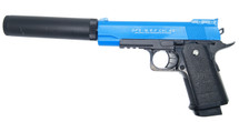 CYMA D1A - HI-CAPA Style pistol - Full Metal in Blue