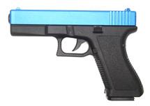 Vigor V307 Custom G17 Pistol in Blue