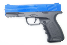 Galaxy G39 Full Scale Pistol in Full Metal in Blue
