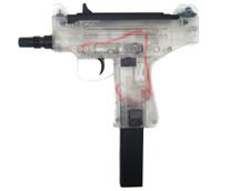 Blackviper Micro UZI Electric BB Gun in Clear