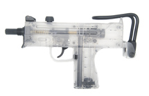 Blackviper B295 UZI - CO2 Submachine Gun in Clear