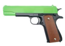 Galaxy G13 Full Metal BB Gun in Radioactive Green