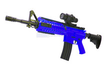 Well D2810 M4 fully auto BB Gun in Blue