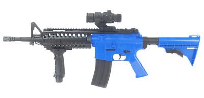 Well D2810 Electric Airsoft Gun in blue
