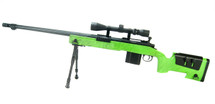 Well MB4416 M40A5 Airsoft Sniper Rifle in Green