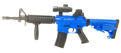 Well M16A6A-1 Spring Rifle in Blue