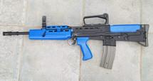 BROKEN//FAULTY Army Armament R85A1 L85 SA80 AEG Replica in BLUE