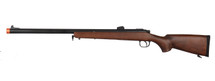 Double Bell 201 - VSR-10 Airsoft Bolt Action Sniper Rifle in Wood