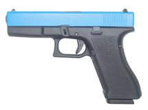 Double Bell 770 - G17 GBB BB Gun Pistol in Blue