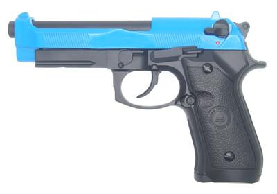 Double Bell 736 - M92 GBB BB Gun Pistol in Blue