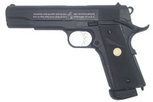 Double Bell 838 - M1911 GBB Co2 Airsoft Pistol in Black
