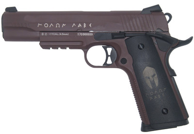 Double Bell 785 - M1911 GBB ΜΟΛΩΝ ΛΑΒΕ (Molon Labe) Pistol in Brown