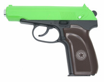 Galaxy G29 Czech CZ83 Full Metal Pistol in Radioactive Green