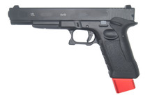 Double Bell 764-US - G17L GBB Pistol With Red Mag in Black