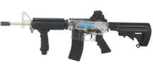 Blackviper B4817 M4 AEG Airsoft gun in Clear