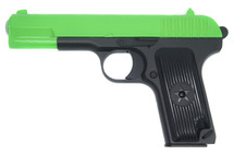 Galaxy G33 TT-33 Full Metal Pistol BB Gun in Radioactive Green