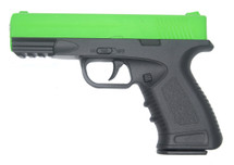 Galaxy G39 Full Scale Pistol in Full Metal in Radioactive Green