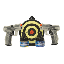 Walther P99 Duellers Kit - Twin Pack with Target in Clear
