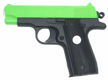Galaxy G2 Full Metal Pistol bb gun in Radioactive Green