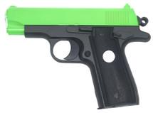 Galaxy G2 Full Metal Pistol bb gun in Radioactive Green