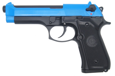 Double Bell 726 - M92 GBB Replica Pistol in Blue