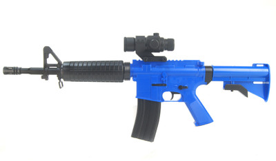 Well D92 - M16 Carbine Fully automatic BB gun in Blue