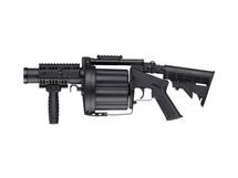 ICS 190 GLM Revolver Grenade Launcher in Black