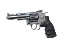 """ASG Dan Wesson 4"""" Airsoft Revolver in Silver"""