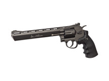 "ASG Dan Wesson 8"" Airsoft Revolver Hi-power Co2 in Black"