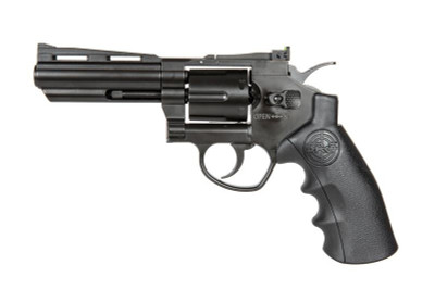 "SRC TITAN 4"" Co2 Full Metal Airsoft Revolver in Black"