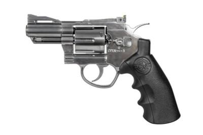 """SRC TITAN 2.5"""" Co2 Full Metal Airsoft Revolver in Silver"""