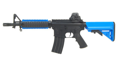 DBOYS BYT-02B M4 AEG with Metal Gearbox in Blue