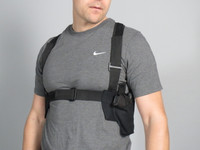 The Ultra Gen2 Harness - with sewn in place holster and magazine pockets. For men and women.