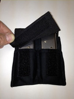 "This ""Medium"" magazine pocket has a retention strap and is designed for extreme use (Law Enforcement)."