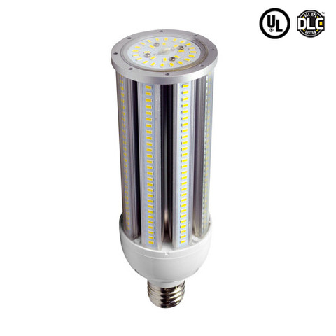 54W 360°Degree Beam Angle E39 Base LED Corn Bulb 5940 Lumens. 12 Units Per Carton