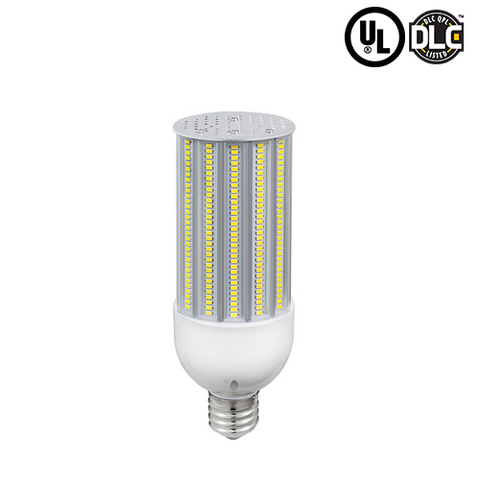 36W 180°Degree Beam Angle E39 Base LED Corn Bulb 3780 Lumens 12 Units Per Carton