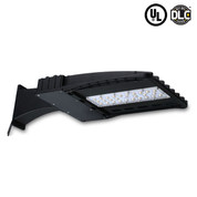 100 watt LED Shoebox Fixture. 10,500-11,600 Lumens - 5000K. 1 Unit Per Carton