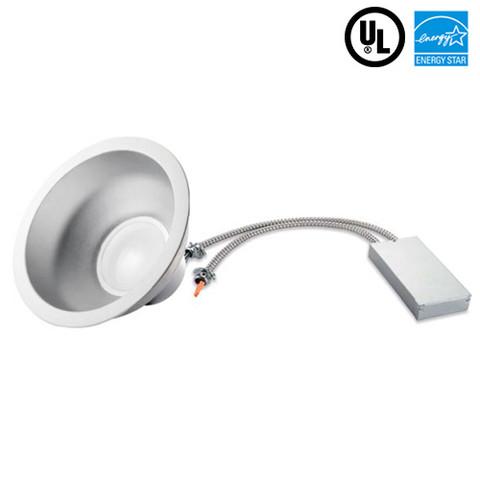 50W 10 Inch Architectural Downlight 4200 Lumens 277V 2 Units Per Carton