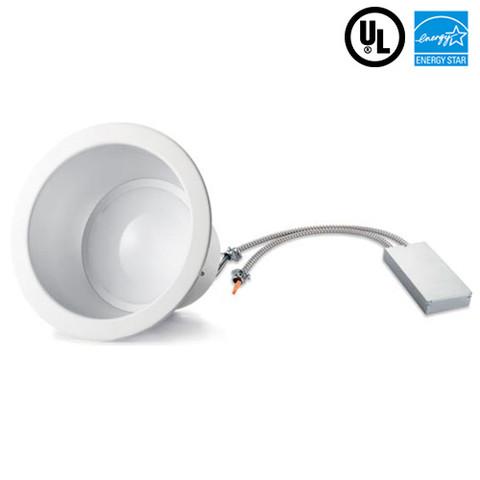 25W-6Inch Architectural Downlight. 2200 Lumens. 277V. 4 Units Per Carton