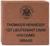 "8"" x 8"" Engraved Brick"