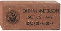 "4"" x 8"" Engraved Brick"