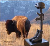 Fallen Soldier Memorial Statue