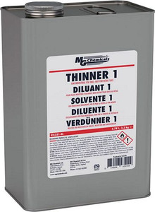 For thinning M.G. Chemicals Coating up to 50%. Recommended fo ruse on ABS and Polycarbonate plastics.